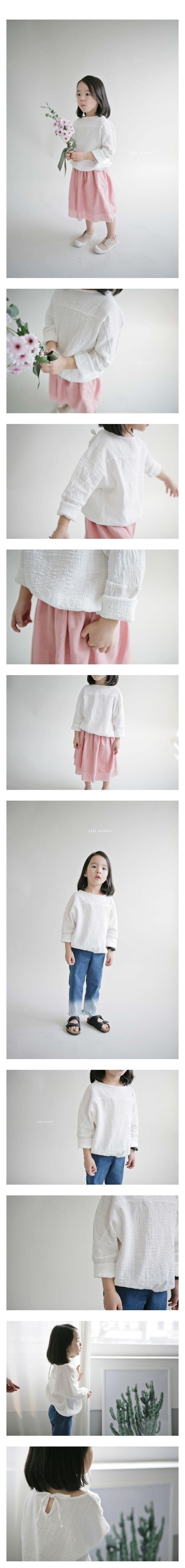 LILI ET EUNU - Korean Children Fashion - #Kfashion4kids - Bonjour Blouse