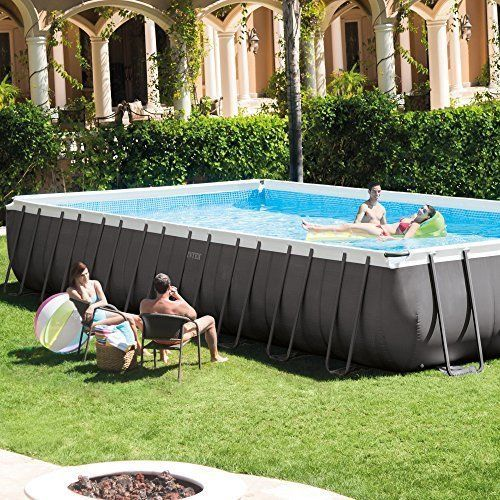NEW 32 Feet Outdoor Swimming Pool Ultra Premium Pool Set Family kids Garden Yard #Intex