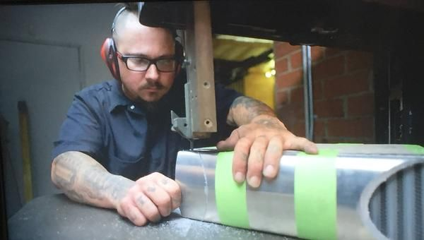 Featured Fabricator Tommy Henninger of Tommy's Chop Shop in Statesville North Carolina has built Busch series cars, worked on Hot Rods, Mustangs, Fabricated Chassis, Build Exhaust and Turbo systems and Studied at the Nascar Institute with his expertise centered on TIG, MIG and general custom fabrication.