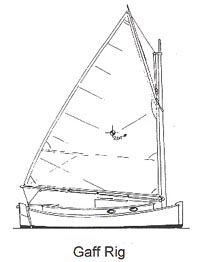 CATBIRD 18 - Daysailer/Pocket Cruiser - Boat Plans - Boat Designs