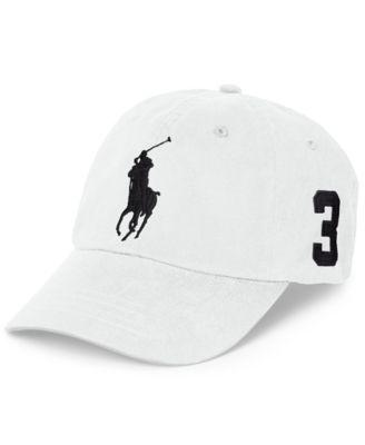 Polo Ralph Lauren Chino Sports Cap - Hats, Gloves & Scarves - Men - Macy's