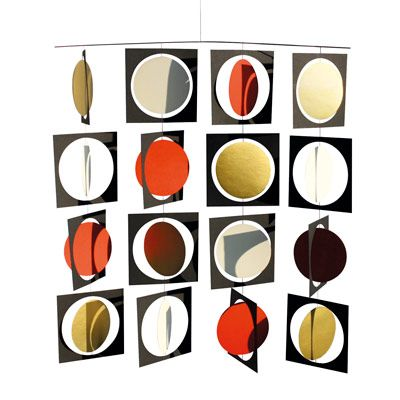 Livingly uro – Circle Frame Mobile – Stor mobile - Tinga Tango #livingly#mobile#uro#grafisk#dekoration
