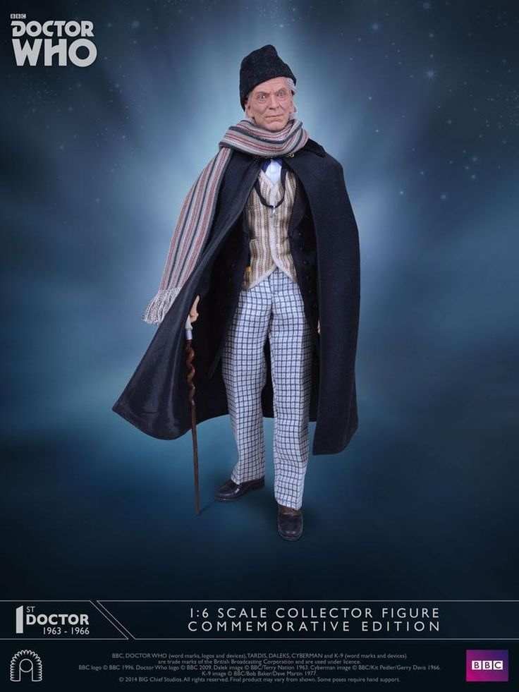 Doctor Who Action Figure 1/6 1st  Doctor Commemorative Edition 30 cm