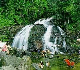Waterfalls at Lombong, Kota Tinggi