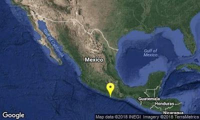 AL REPORTE: Sismo de magnitud 5 en Guerrero esta mañana