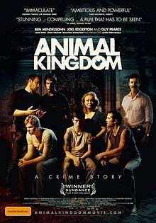 Animal Kingdom: Damn good Aussie flick; bit creepy at times, but well made and surprisingly well acted.