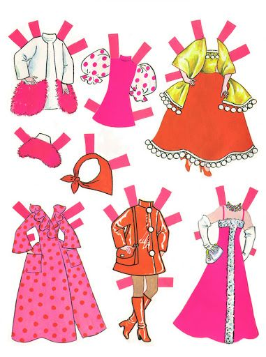 Dawn paper doll, 1971* The International Paper Doll Society by Arielle Gabriel for all paper doll and paper toy lovers. Mattel, DIsney, Betsy McCall, etc. Join me at #ArtrA, #QuanYin5 Linked In QuanYin5 YouTube QuanYin5!