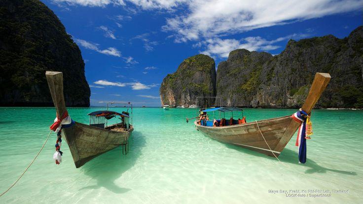 Maya Bay, Krabi, Ko Phi-Phi Leh, Thailand