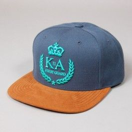 KING APPAREL FIRST GUARD SNAPBACK BLUE