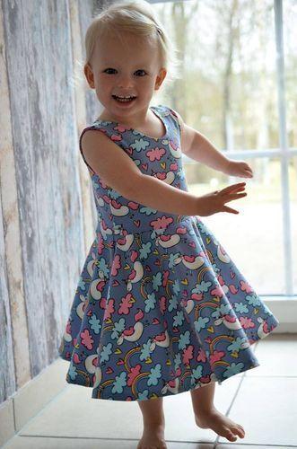 Schnittmuster Jerseykleid Marisa von My Little Ladybird – #Jerseykleid #jupe #Ladybird #Marisa #Schnittmuster