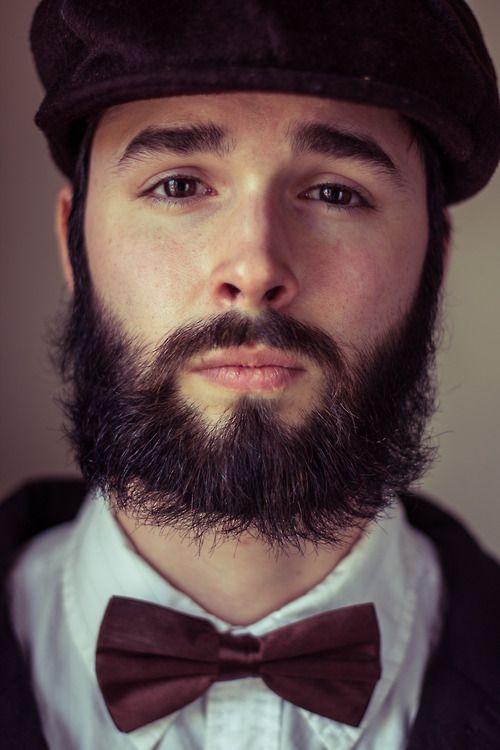 Bowtie, beard, beautiful eyes