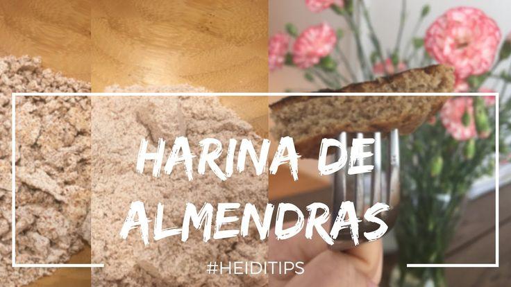 CÓMO HACER HARINA DE ALMENDRAS (ALMOND) + PANQUECAS  ESPONJOSAS #SINGLUT...