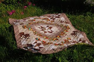 Штучки и штуковины: Осеннее лоскутное одеяло