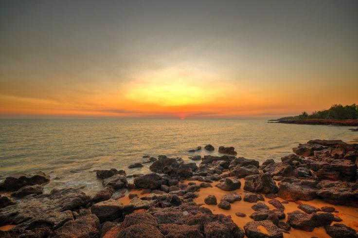 Sunset at Dundee Beach, Darwin