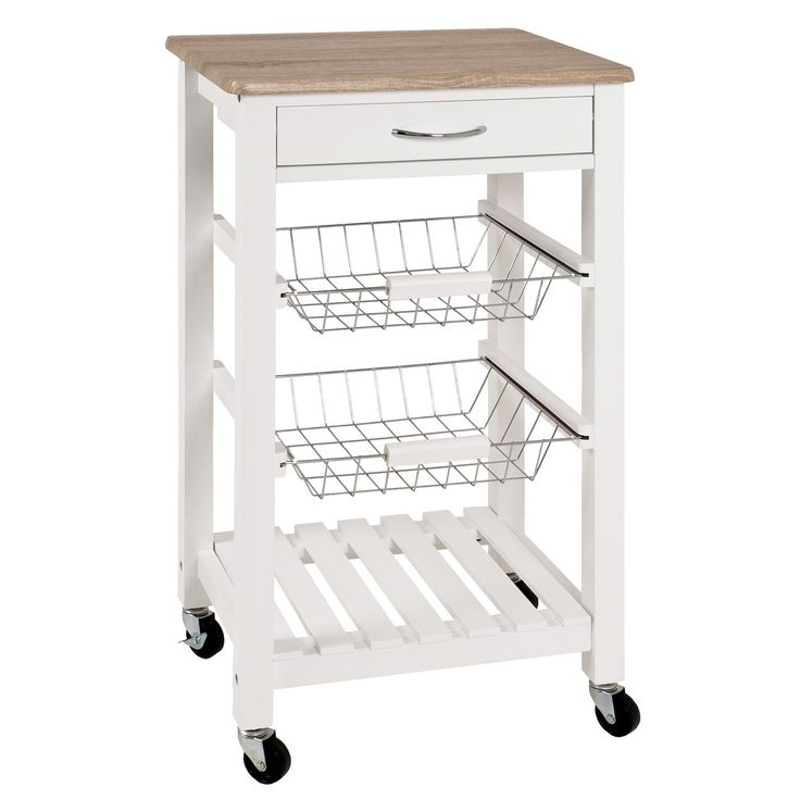 House Additions Kitchen Cart With Drawer
