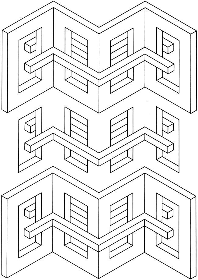 Geometric Art Coloring Book : 353 best art coloring pages images on pinterest