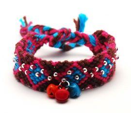 Jojan♡ Peruaanse geknoopte armband JN107   Peruaanse geluks armbandjes   Idhuna Jewels - Fashion sieraden