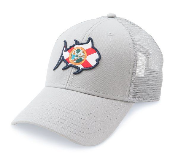 Southern Tide State of Florida Flag Trucker Hat