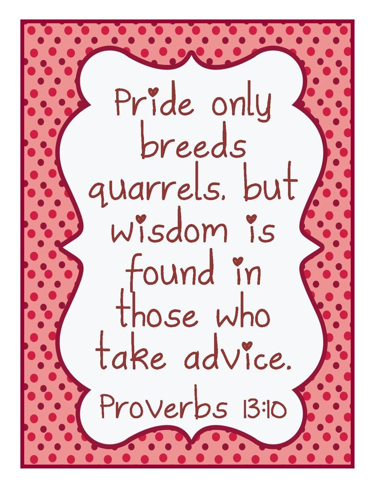 Proverbs 13:10 verse of the day is always spot on! A certain area where a very prideful person has caused many many quarrels is on my heart and mind today, praying for wisdom and advice from the Lord, and the most audible voice I've ever heard from the Lord said to me 'stay away or you will be hurt'  ok!! You got it God! #peacemaker #hardtowatch #trustingGod