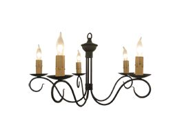 Dinahs Delight Wrought Iron Chandelier