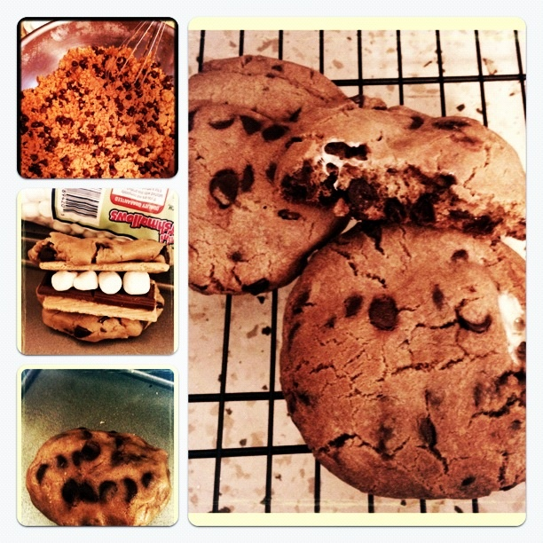 ... giant s mores cookies goodies by anna giant s mores cookies goodies by