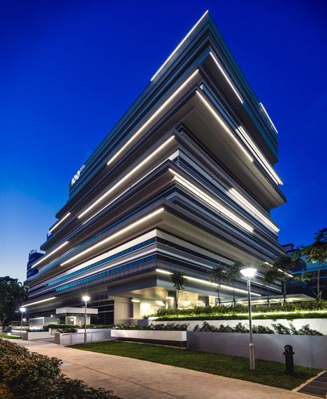 "Ministry of Design's 100PP joins a wave of ""edgy and interesting"" buildings for Singapore creatives."