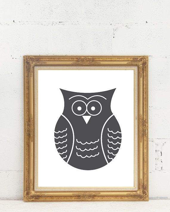 8 x 10 Owl Colored in Drawing by LivyLoveDesigns on Etsy, $15.00Etsy, Art Prints, Owls Colors, 15 00, Drawing, 10 Owls