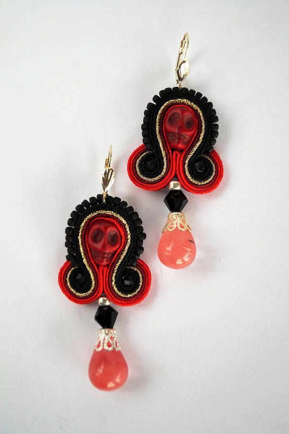 Hey, I found this really awesome Etsy listing at https://www.etsy.com/listing/472315649/small-soutache-earrings-handmade