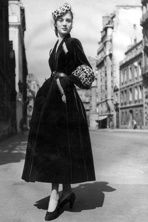 In Photos: Dior in the 1940s