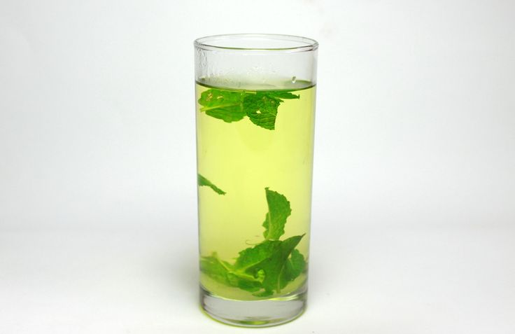 How to Make Mint Tea; wondering what to do with all my mint leaves. 2 cups boiling Water, Mint, Sugar!