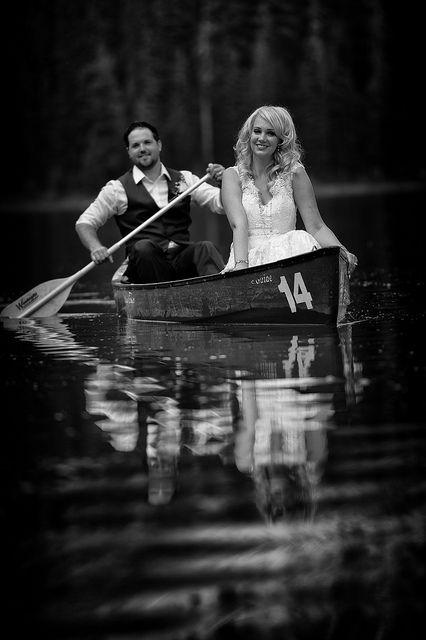 Emerald Lake Wedding Portrait | Flickr - Photo Sharing!