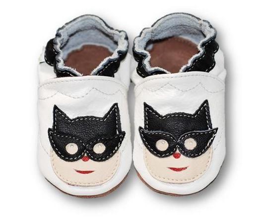ekoTuptusie Superbohater Biel Soft Sole Shoes   Super Hero White Les chaussures pour enfants Krabbelshuhe Crib Shoes https://www.fiorino.eu/sklep/