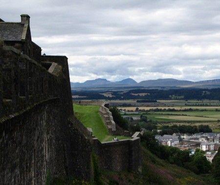 Murallas del Castillo de Stirling en Escocia