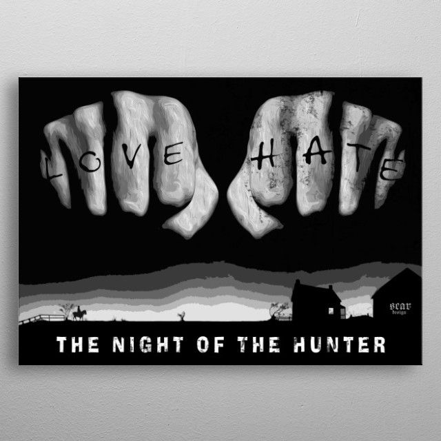 SALES!  - Use code: ALLSTAR Buy 3-4 get 15% OFF | 5+ 20% OFF. The Night of the Hunter metal print Poster. #thenightofthehunter #thenightofthehunterposter #movie  #poster #movieposter #cinema #film #sale #sales #discount #deals #save #cinephile #cinemagifts #giftsforhim #giftsforher #gifts #home #homedecor #art #design #homegifts #popular #awesome #cool #campus #dorm #wallart #family #livingroom #metalprint #shopping #filmnoir #classicmovies #movies #hollywood #onlineshopping #39