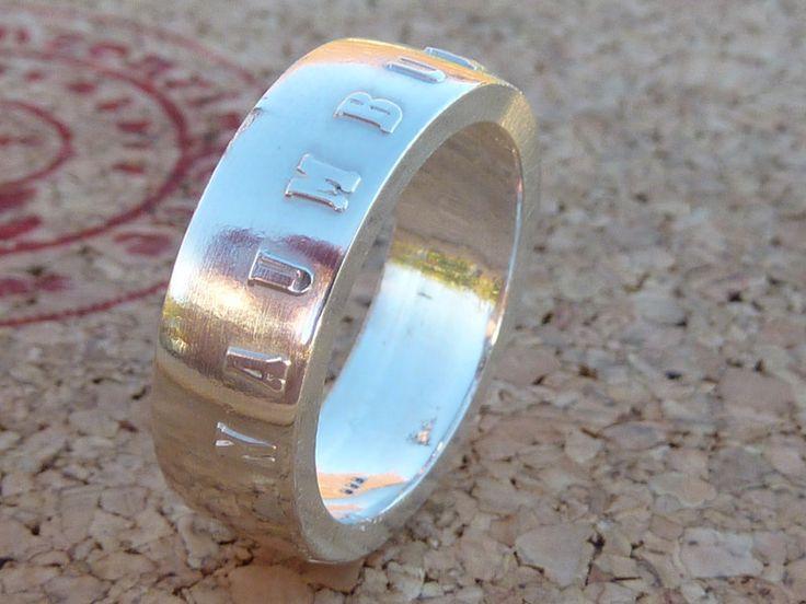 Silberringe - Silberring,von Naumburg,innenØ19-23mm erhältlich  - ein Designerstück von schmuck-checker bei DaWanda