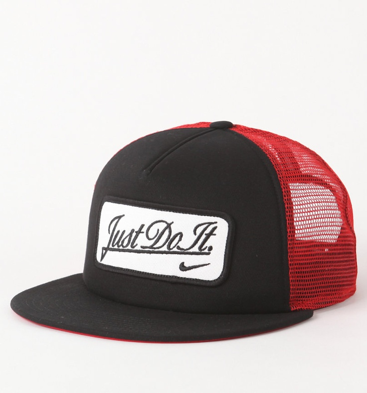 nike flat peak caps