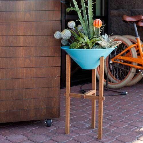 matchstick planter - Matchstick Tile Garden Decoration