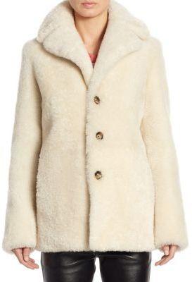 Saint Laurent Teddy Bear Coat