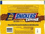 2003 Snickers Cruncher Candy Wrapper