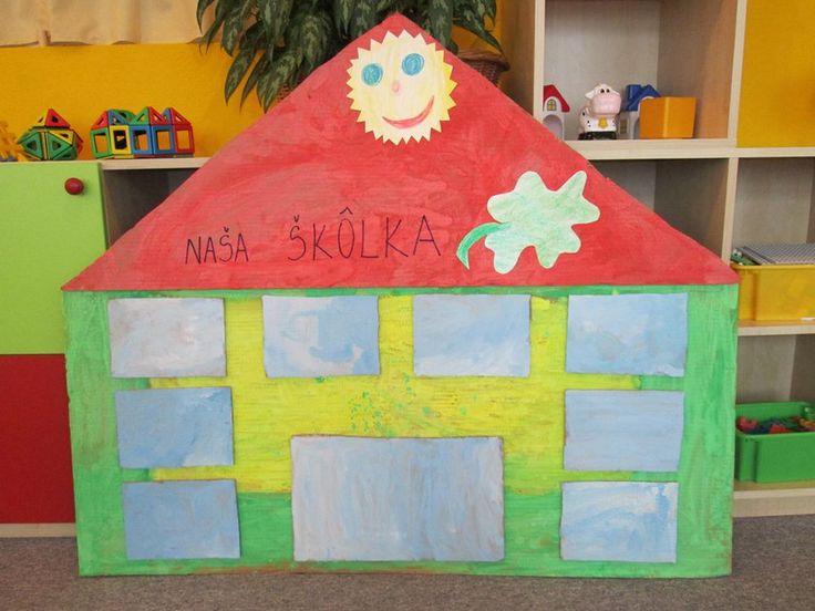 Naša škôlka - do okienok dolepiť foto detí