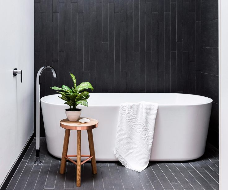 These magnificent monochrome bathrooms will never go out of fashion.
