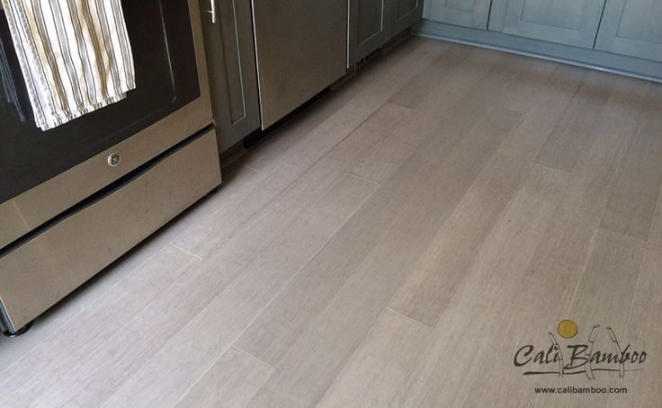 Grey hardwood floors moonlight fossilized bamboo cali for Hardwood flooring zero voc