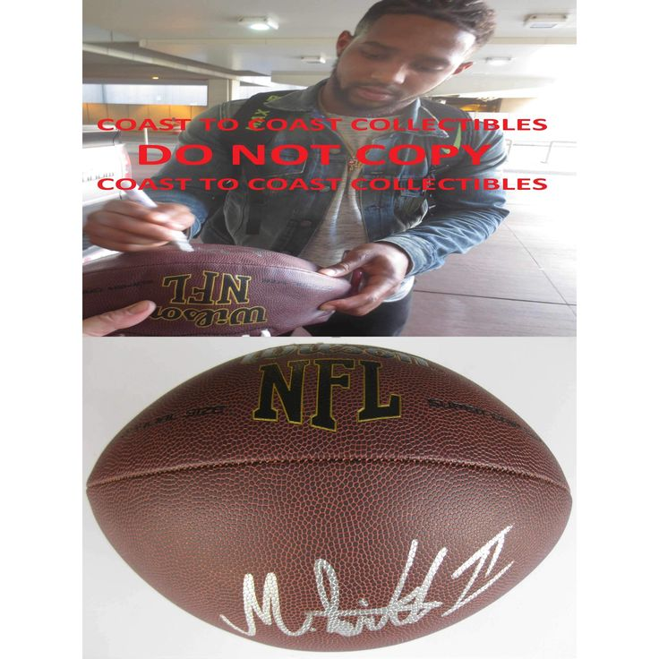 Maurice Smith, Georgia Bulldogs, Signed, Autographed, Football, a COA with the Proof Photo of Maurice Signing Will Be Included