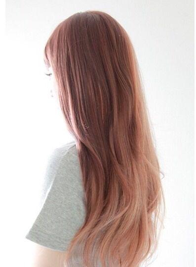Pink brown hair ❤️