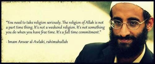 Religion of Allah is not a part time thing.