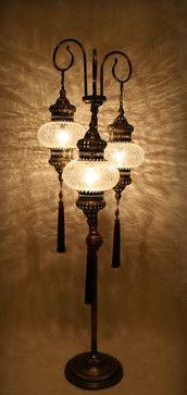 Ottoman Style Floor Lamp mediterranean floor lamps