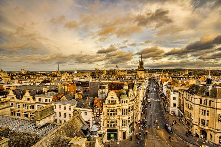 Oxford town center by Family-Man
