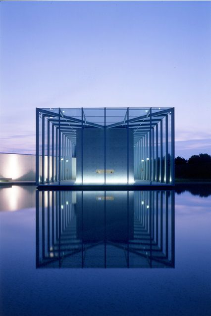 Langen Foundation near Neuss, North Rhine-Westphalia, Germany is a museum designed by Japanese architect Tadao Ando. The foundation showcases a collection of Oriental Art and Modern Art. It is located on the grounds of the Museum Insel Hombroich.