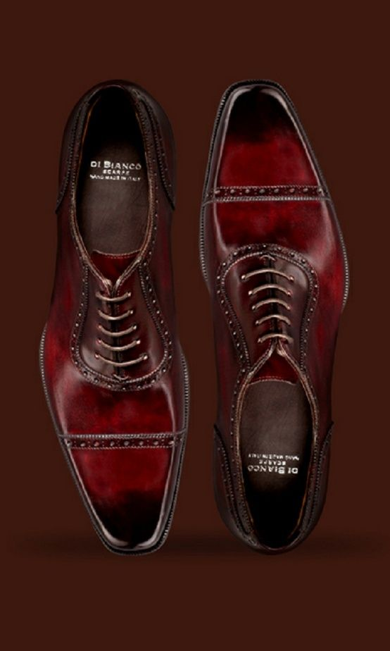 Bordeaux Dress Shoes for Men