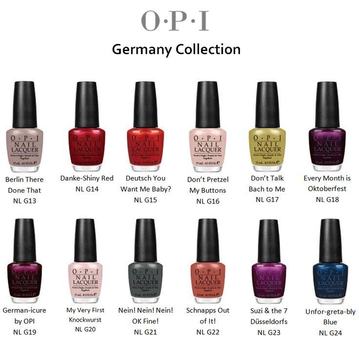 217 best O.P.I images on Pinterest | Nail polish colors, Opi nails ...